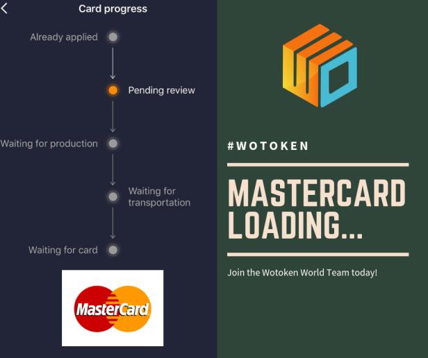 Wotoken MasterCard