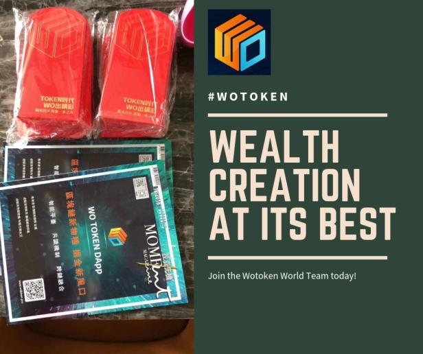 Wotoken Wealth creation