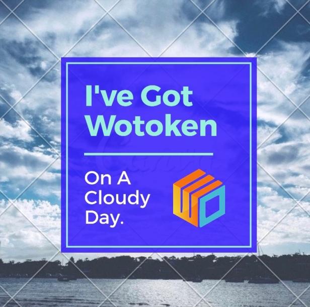 Wotoken cloudy days