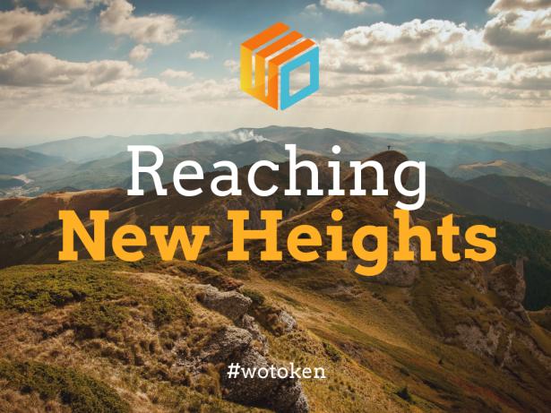 Wotoken reach new heights