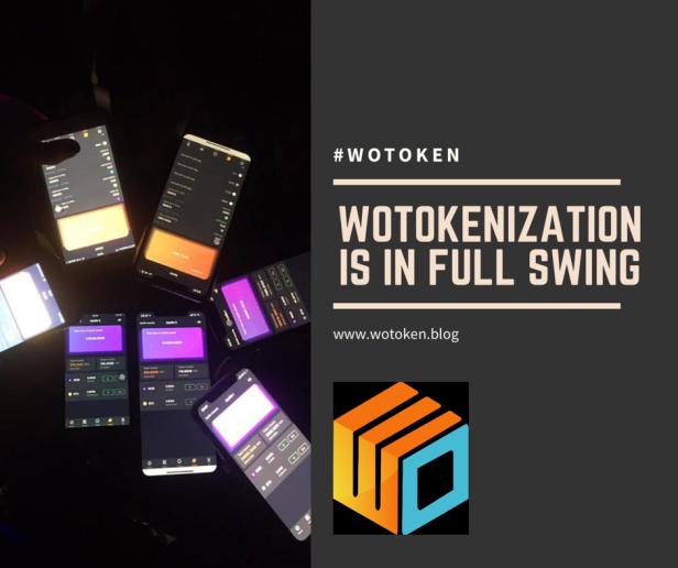 wotokenization is in full swing